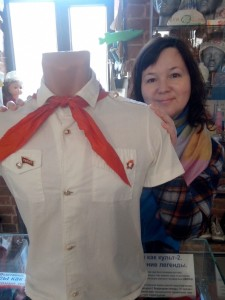 Музей соцбыта пионерский галстук