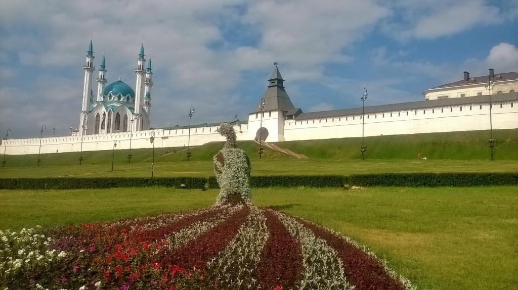 Павлин у кремля